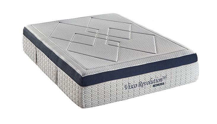 Bed boss visco revolution king sleep cheep mattress for Bed boss reviews